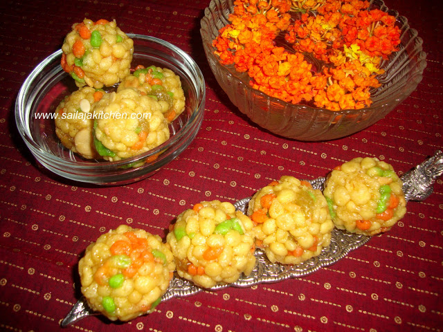 Boondhi Ladoo by Sailaja